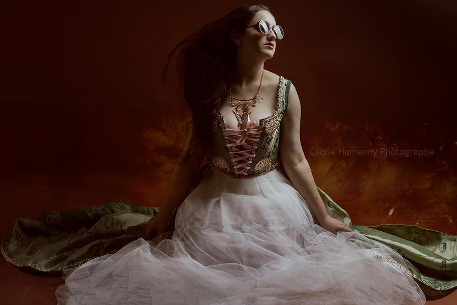 portrait-art-dame-emeraude-costume-cecile-humenny-photographe-toulouse-mini-seance