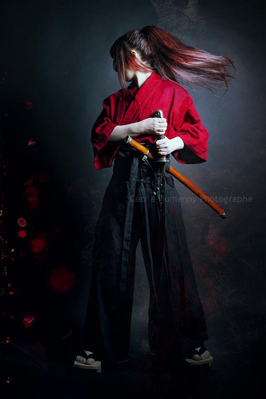 portrait-art-sur-mesure-samourai-cecile-humenny-photographe-toulouse-studio